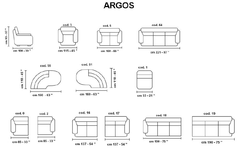 Argos מידות